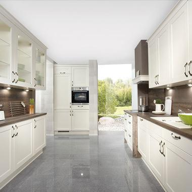 German Kitchens in East Antrim. Cottage Kitchens, Chalet Range