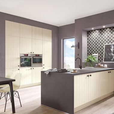 German Kitchens in East Antrim. Cottage Kitchens, Flair Range