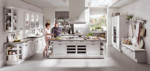 German Kitchens in East Antrim. Cottage Kitchens, York Range